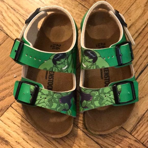 Birkenstock Sandals Marvel Hulk Toddler